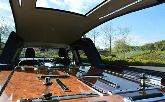 Floyd & Son open hearse
